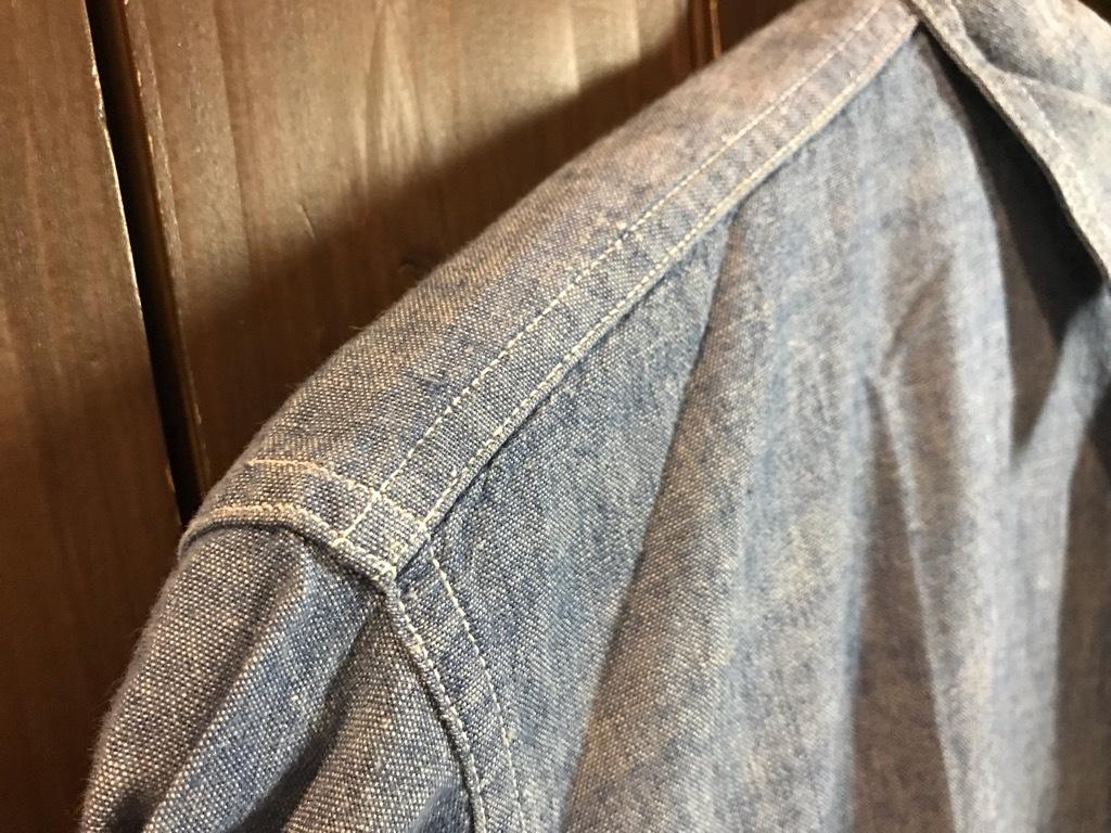 マグネッツ神戸店4/24(水)Vintage入荷! #1 Chambray Shirt!!!_c0078587_16350406.jpg