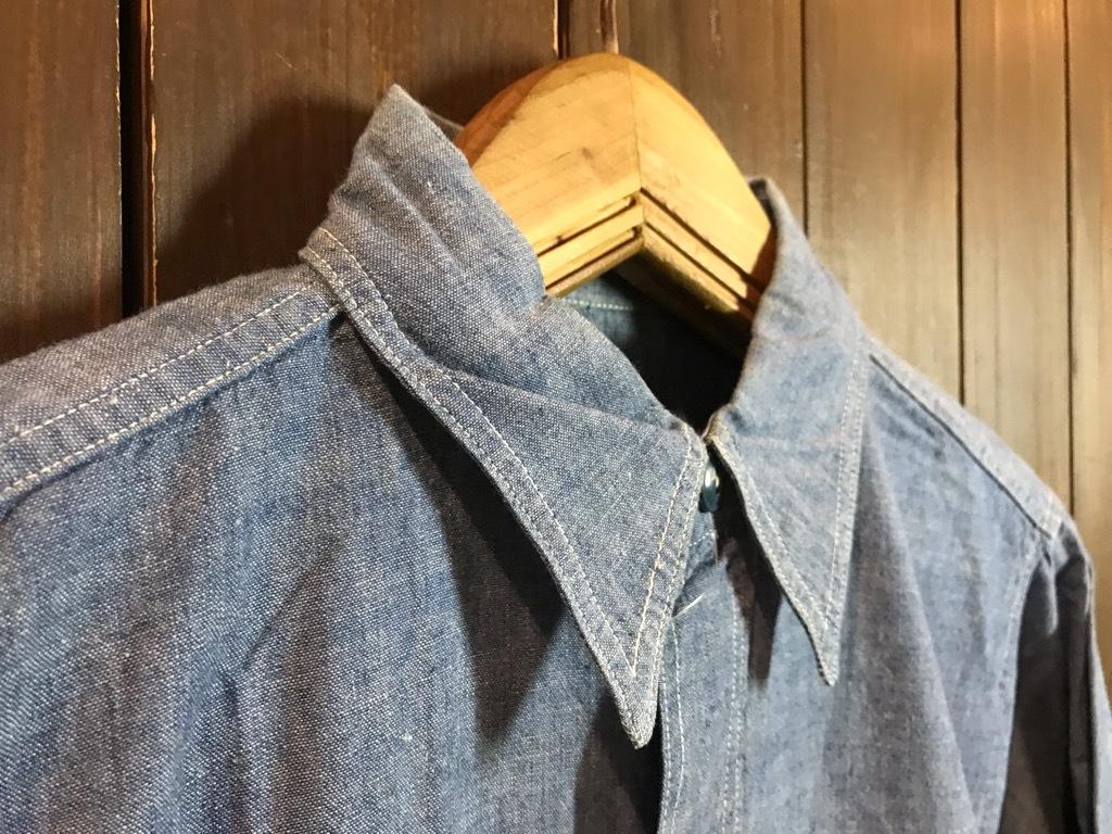 マグネッツ神戸店4/24(水)Vintage入荷! #1 Chambray Shirt!!!_c0078587_16350470.jpg