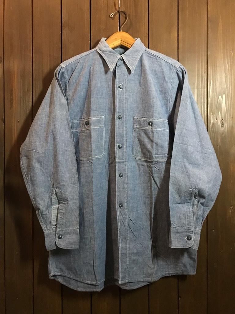 マグネッツ神戸店4/24(水)Vintage入荷! #1 Chambray Shirt!!!_c0078587_16350504.jpg
