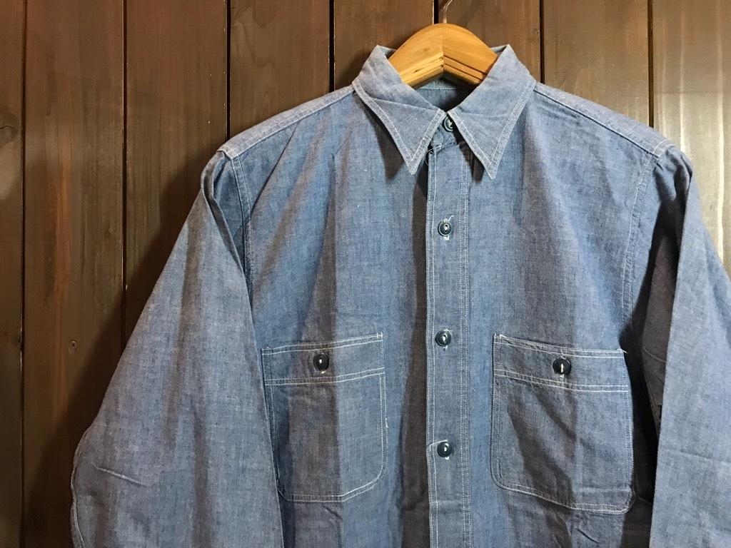 マグネッツ神戸店4/24(水)Vintage入荷! #1 Chambray Shirt!!!_c0078587_16350542.jpg
