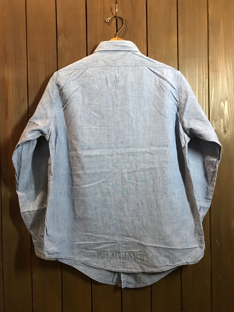 マグネッツ神戸店4/24(水)Vintage入荷! #1 Chambray Shirt!!!_c0078587_16380020.jpg