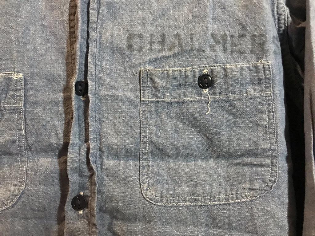 マグネッツ神戸店4/24(水)Vintage入荷! #1 Chambray Shirt!!!_c0078587_16380070.jpg