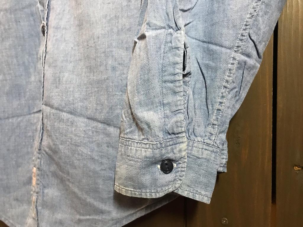 マグネッツ神戸店4/24(水)Vintage入荷! #1 Chambray Shirt!!!_c0078587_16380103.jpg