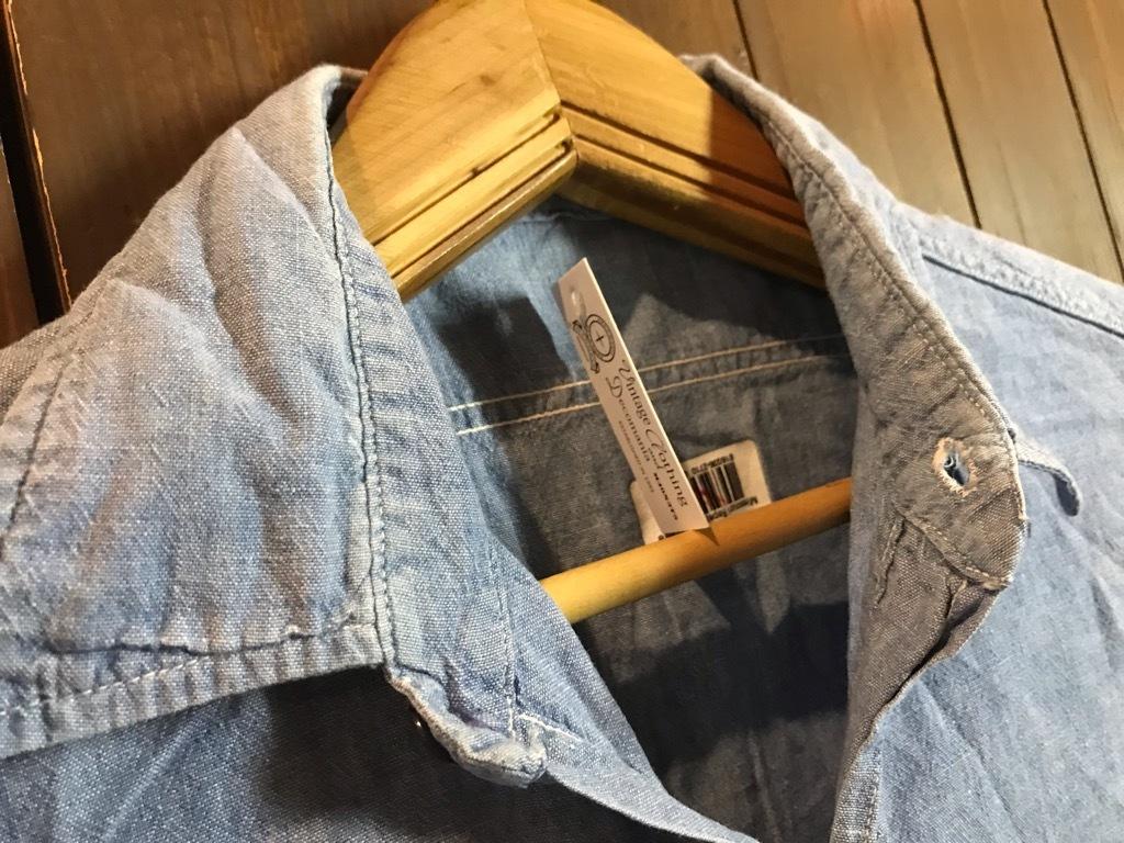 マグネッツ神戸店4/24(水)Vintage入荷! #1 Chambray Shirt!!!_c0078587_16380196.jpg