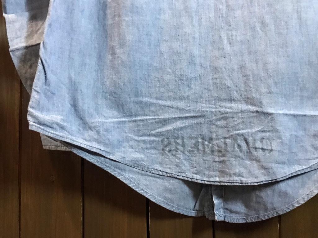 マグネッツ神戸店4/24(水)Vintage入荷! #1 Chambray Shirt!!!_c0078587_16380218.jpg