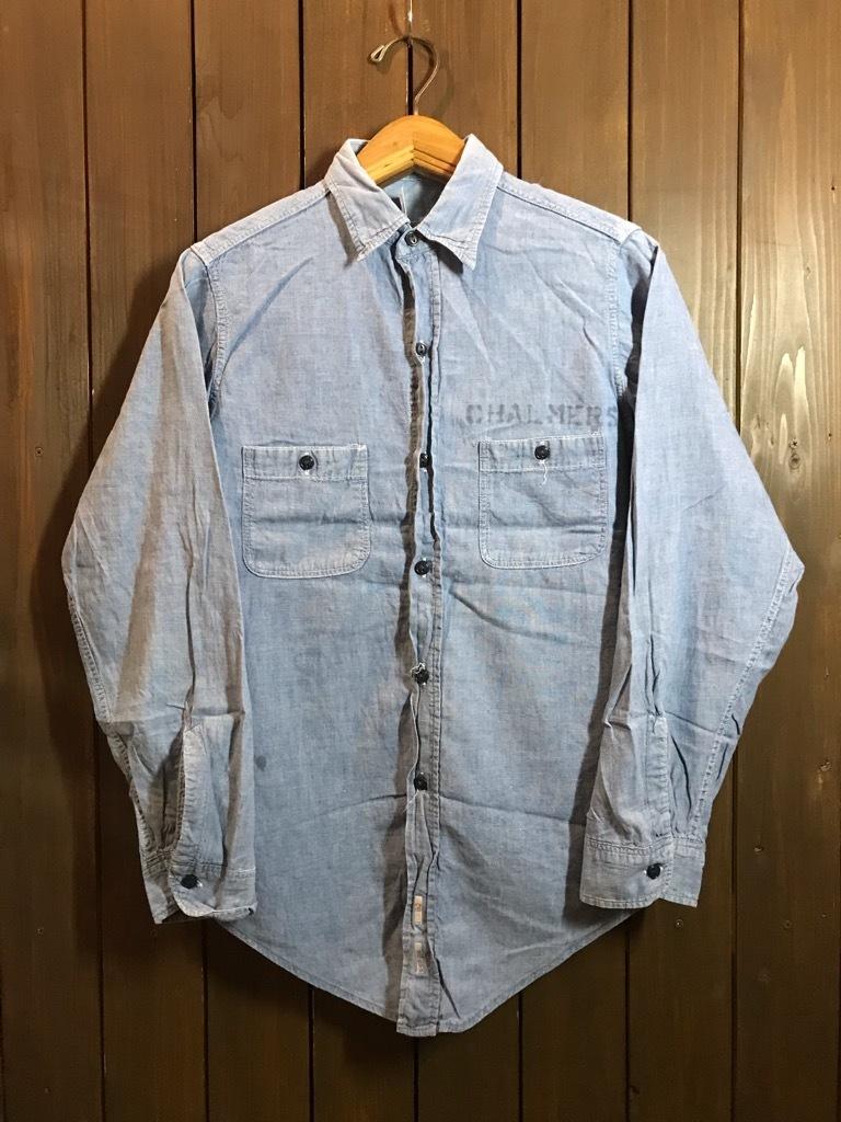 マグネッツ神戸店4/24(水)Vintage入荷! #1 Chambray Shirt!!!_c0078587_16380219.jpg