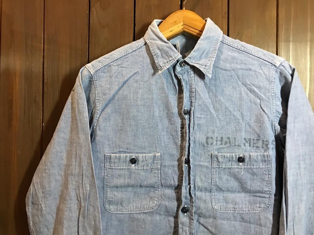 マグネッツ神戸店4/24(水)Vintage入荷! #1 Chambray Shirt!!!_c0078587_16380255.jpg