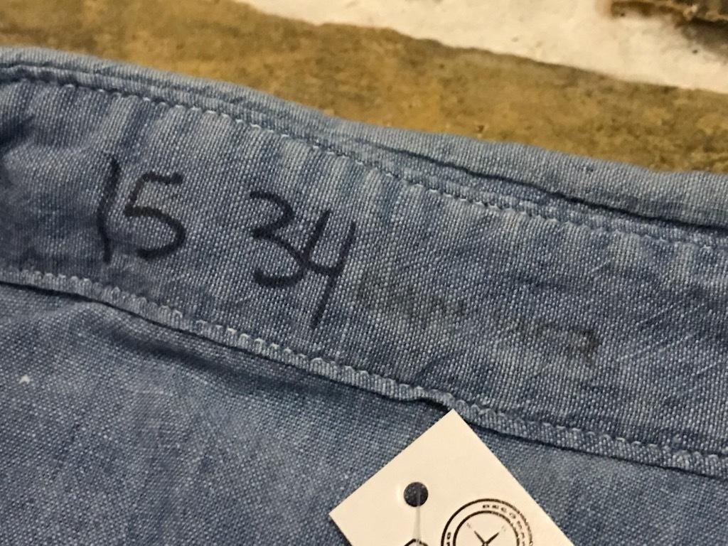 マグネッツ神戸店4/24(水)Vintage入荷! #1 Chambray Shirt!!!_c0078587_16390631.jpg
