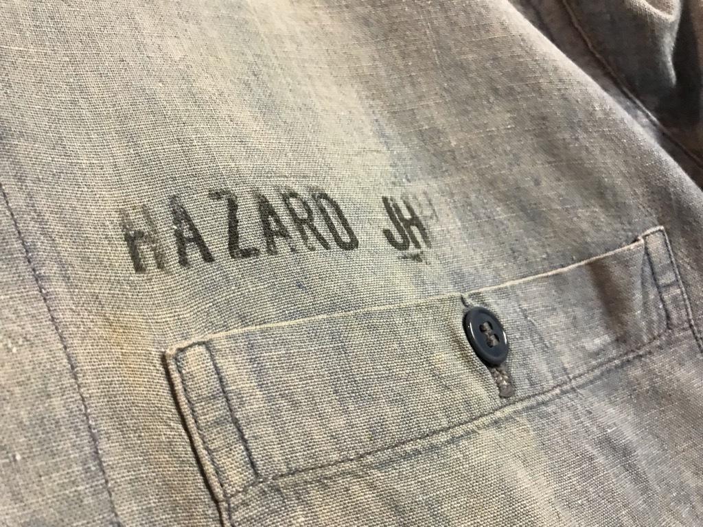 マグネッツ神戸店4/24(水)Vintage入荷! #1 Chambray Shirt!!!_c0078587_17193990.jpg
