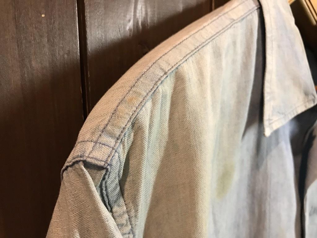 マグネッツ神戸店4/24(水)Vintage入荷! #1 Chambray Shirt!!!_c0078587_17194089.jpg
