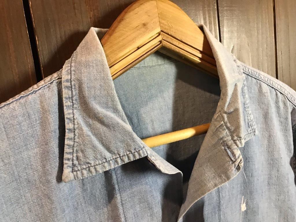 マグネッツ神戸店4/24(水)Vintage入荷! #1 Chambray Shirt!!!_c0078587_17204020.jpg