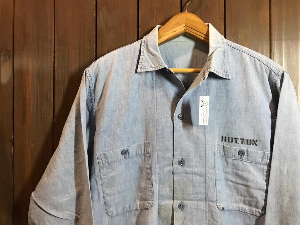 マグネッツ神戸店4/24(水)Vintage入荷! #1 Chambray Shirt!!!_c0078587_17204028.jpg