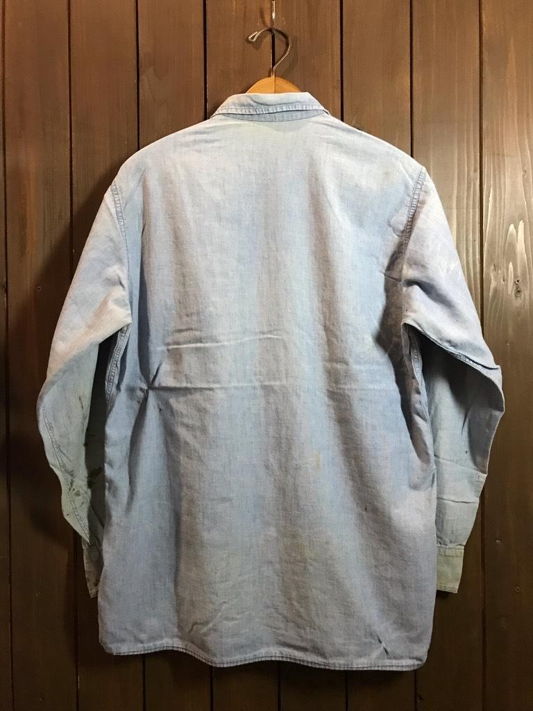 マグネッツ神戸店4/24(水)Vintage入荷! #1 Chambray Shirt!!!_c0078587_17204136.jpg