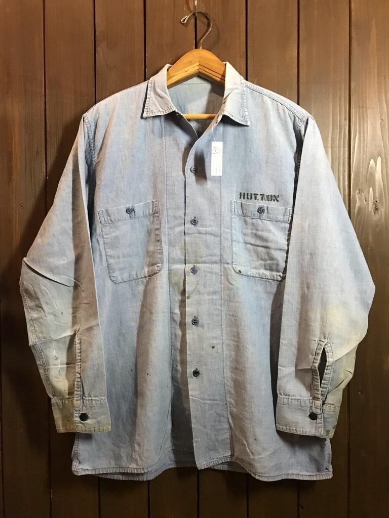 マグネッツ神戸店4/24(水)Vintage入荷! #1 Chambray Shirt!!!_c0078587_17204169.jpg