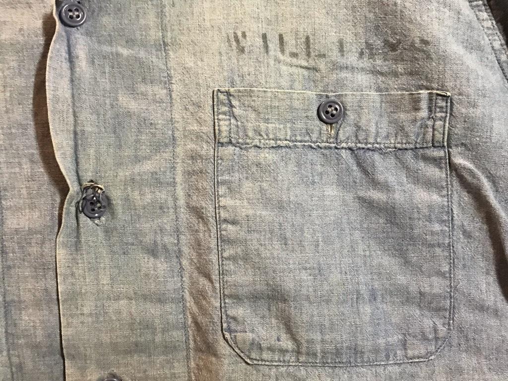 マグネッツ神戸店4/24(水)Vintage入荷! #1 Chambray Shirt!!!_c0078587_17230131.jpg