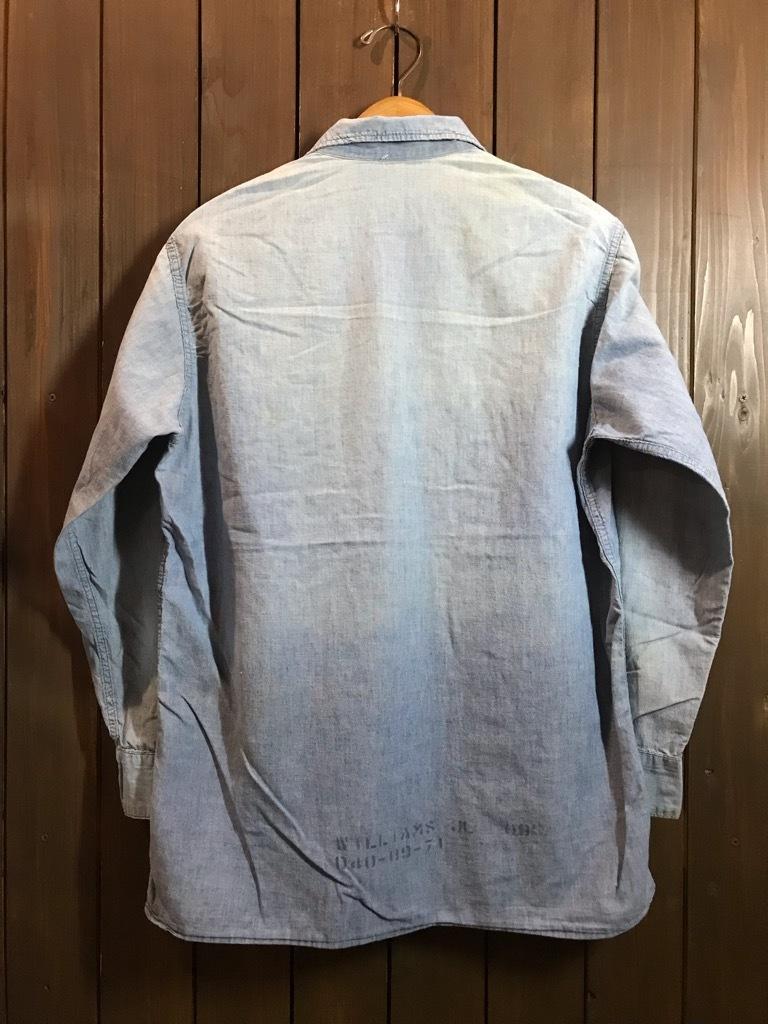 マグネッツ神戸店4/24(水)Vintage入荷! #1 Chambray Shirt!!!_c0078587_17230183.jpg