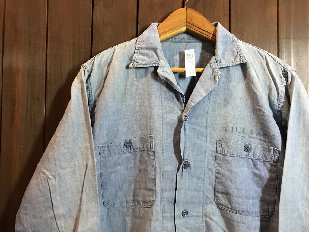 マグネッツ神戸店4/24(水)Vintage入荷! #1 Chambray Shirt!!!_c0078587_17230220.jpg
