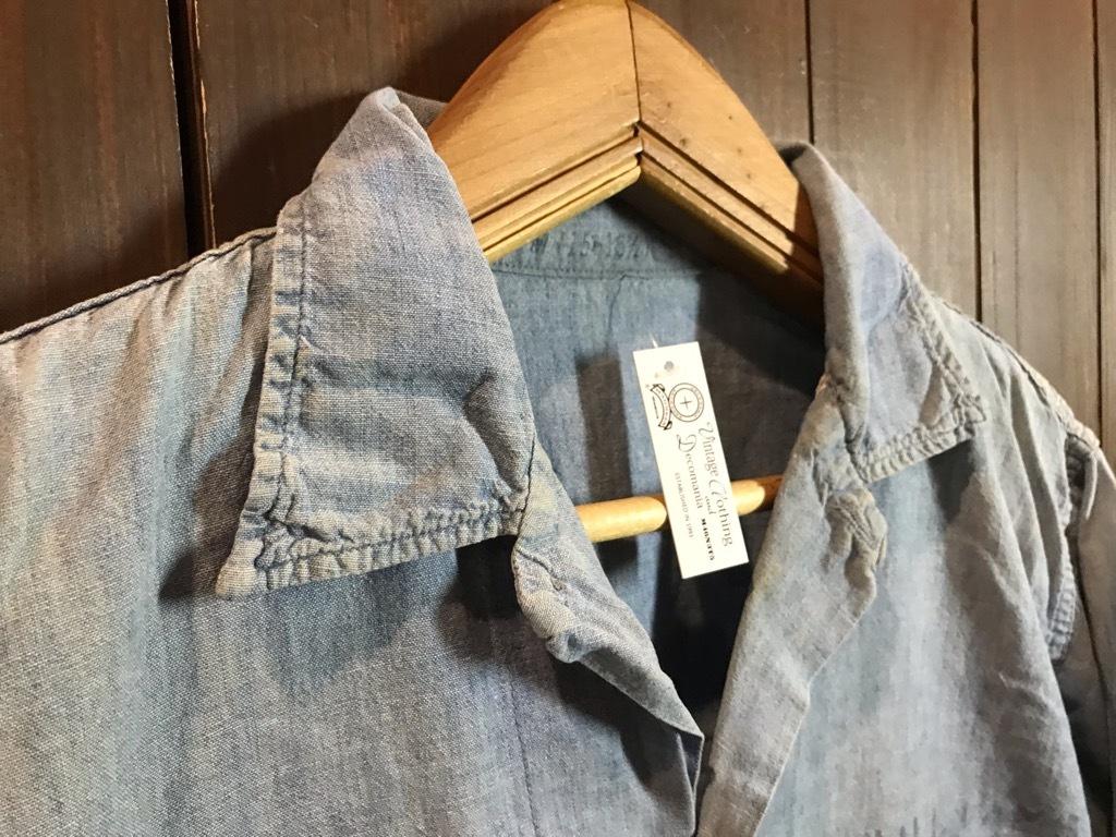 マグネッツ神戸店4/24(水)Vintage入荷! #1 Chambray Shirt!!!_c0078587_17230252.jpg