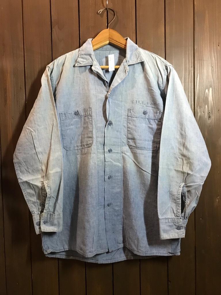 マグネッツ神戸店4/24(水)Vintage入荷! #1 Chambray Shirt!!!_c0078587_17230379.jpg