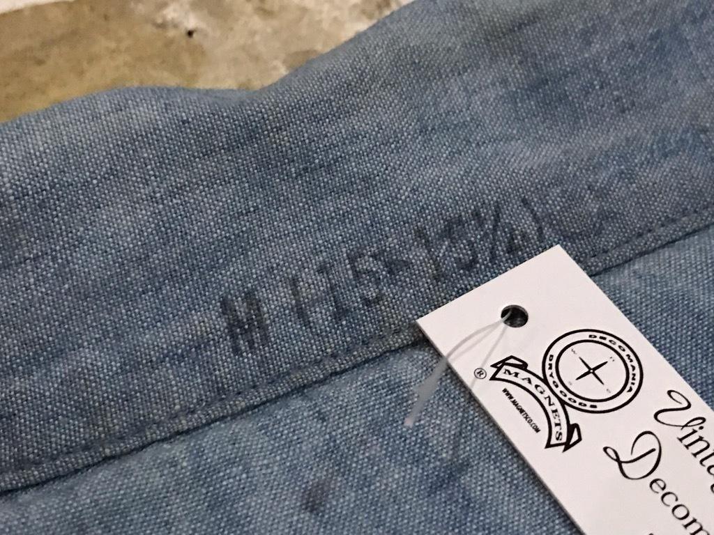 マグネッツ神戸店4/24(水)Vintage入荷! #1 Chambray Shirt!!!_c0078587_17233134.jpg