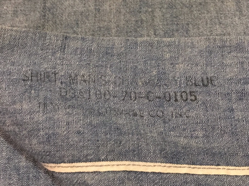 マグネッツ神戸店4/24(水)Vintage入荷! #1 Chambray Shirt!!!_c0078587_17233233.jpg