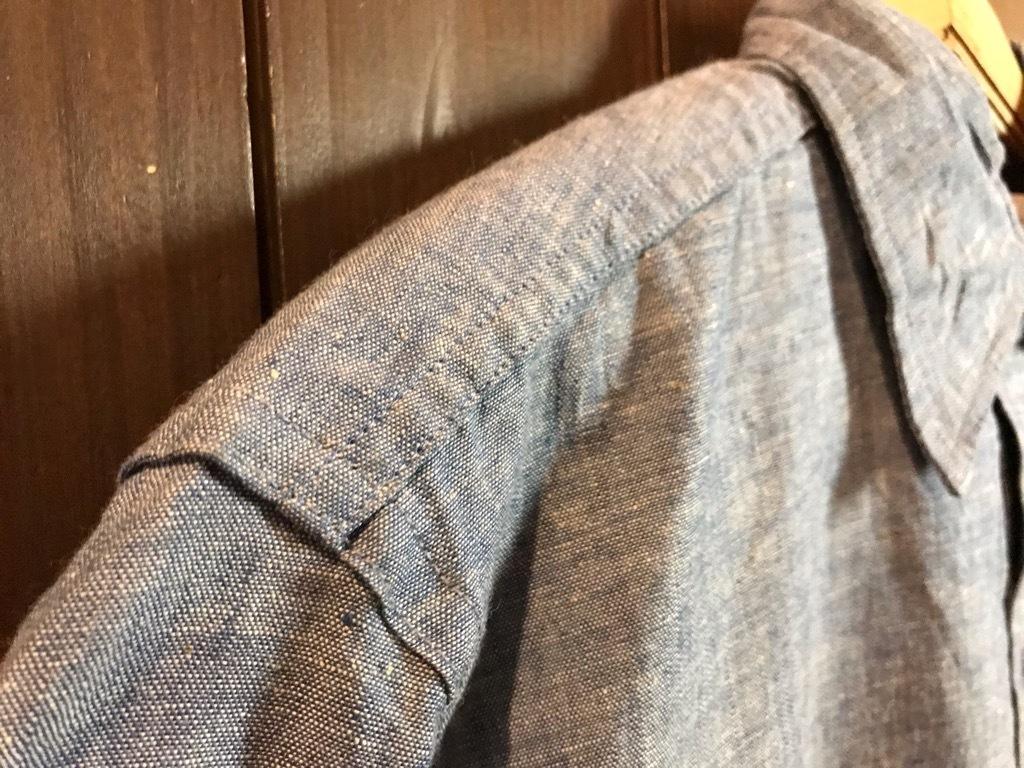 マグネッツ神戸店4/24(水)Vintage入荷! #1 Chambray Shirt!!!_c0078587_17240941.jpg