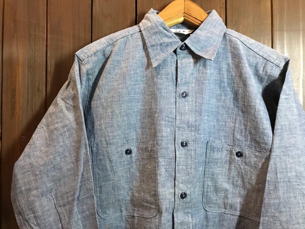 マグネッツ神戸店4/24(水)Vintage入荷! #1 Chambray Shirt!!!_c0078587_17240942.jpg