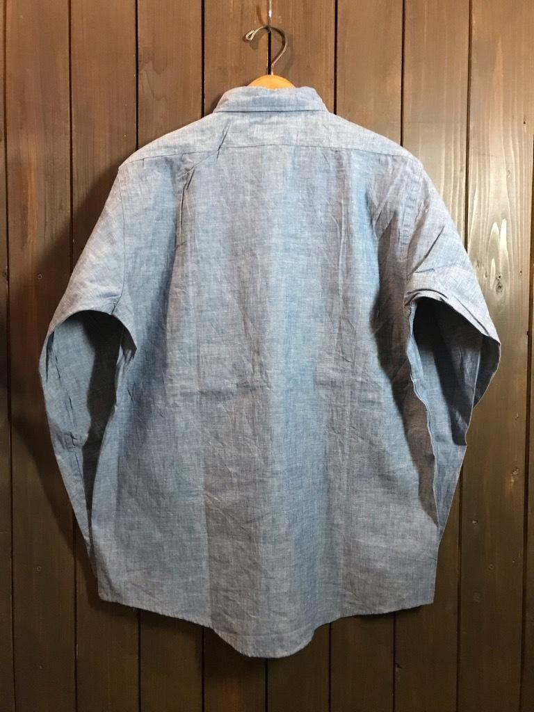 マグネッツ神戸店4/24(水)Vintage入荷! #1 Chambray Shirt!!!_c0078587_17241001.jpg