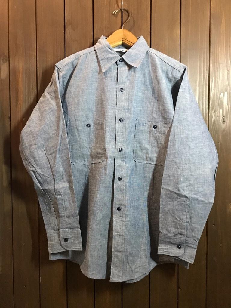 マグネッツ神戸店4/24(水)Vintage入荷! #1 Chambray Shirt!!!_c0078587_17241026.jpg