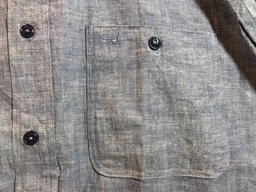 マグネッツ神戸店4/24(水)Vintage入荷! #1 Chambray Shirt!!!_c0078587_17241038.jpg