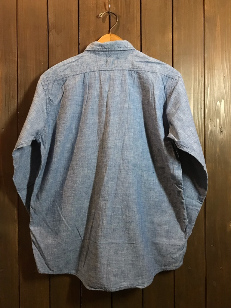 マグネッツ神戸店4/24(水)Vintage入荷! #1 Chambray Shirt!!!_c0078587_17260555.jpg