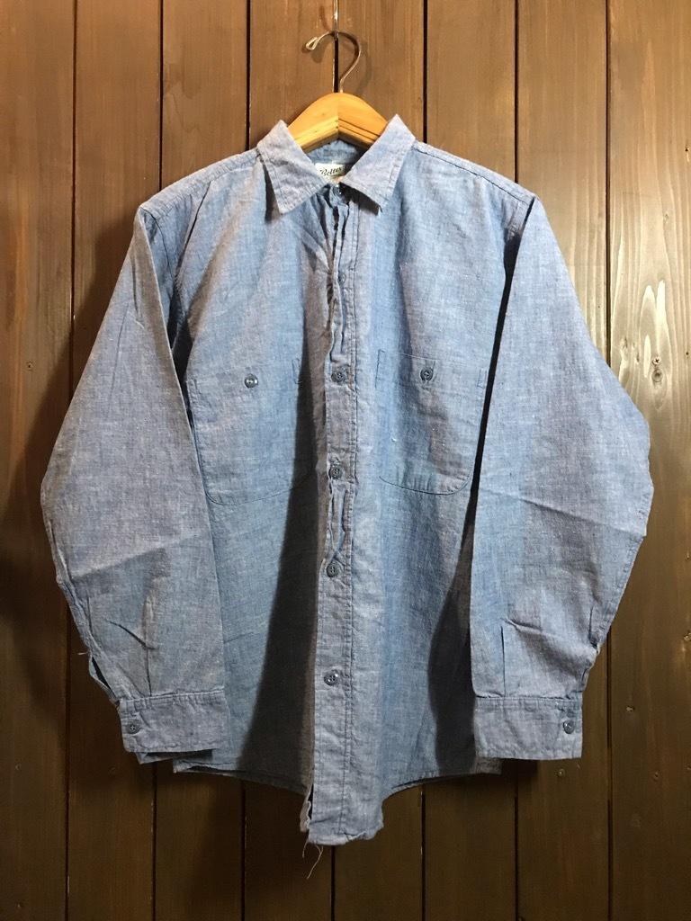 マグネッツ神戸店4/24(水)Vintage入荷! #1 Chambray Shirt!!!_c0078587_17260630.jpg