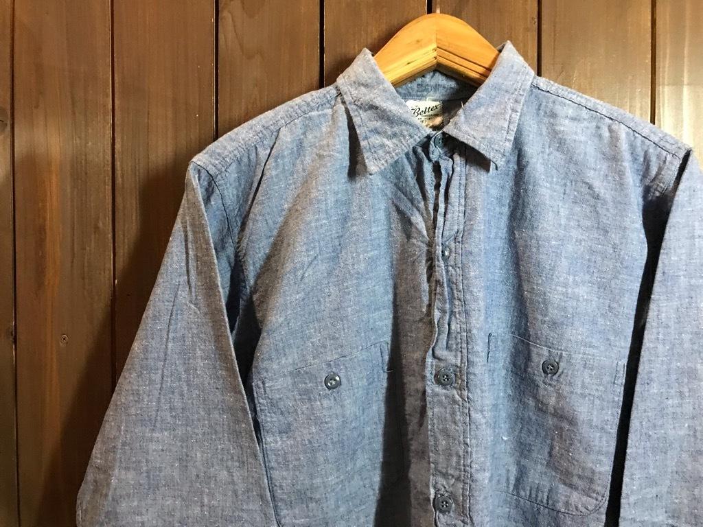 マグネッツ神戸店4/24(水)Vintage入荷! #1 Chambray Shirt!!!_c0078587_17260654.jpg