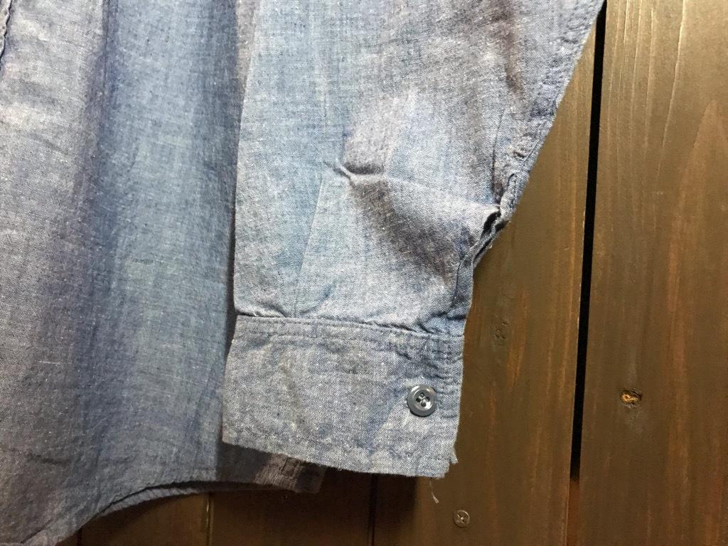 マグネッツ神戸店4/24(水)Vintage入荷! #1 Chambray Shirt!!!_c0078587_17260658.jpg