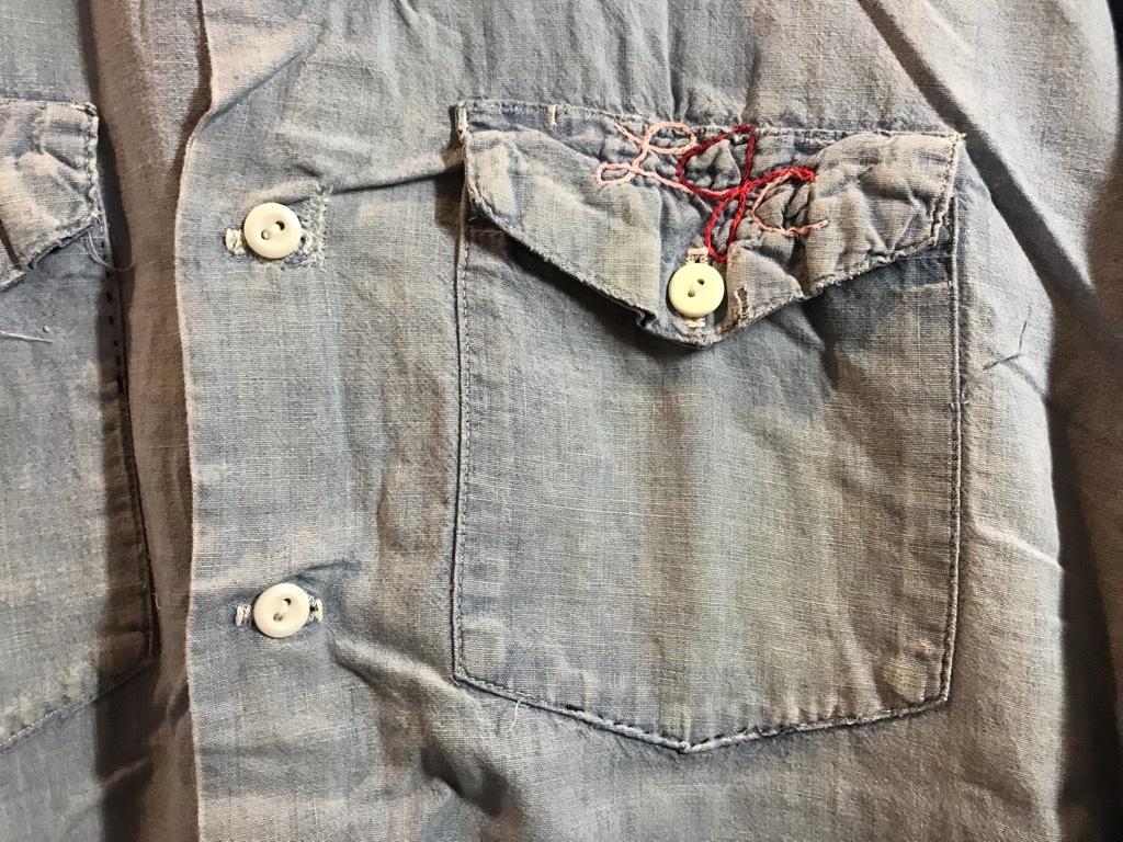 マグネッツ神戸店4/24(水)Vintage入荷! #1 Chambray Shirt!!!_c0078587_17271930.jpg