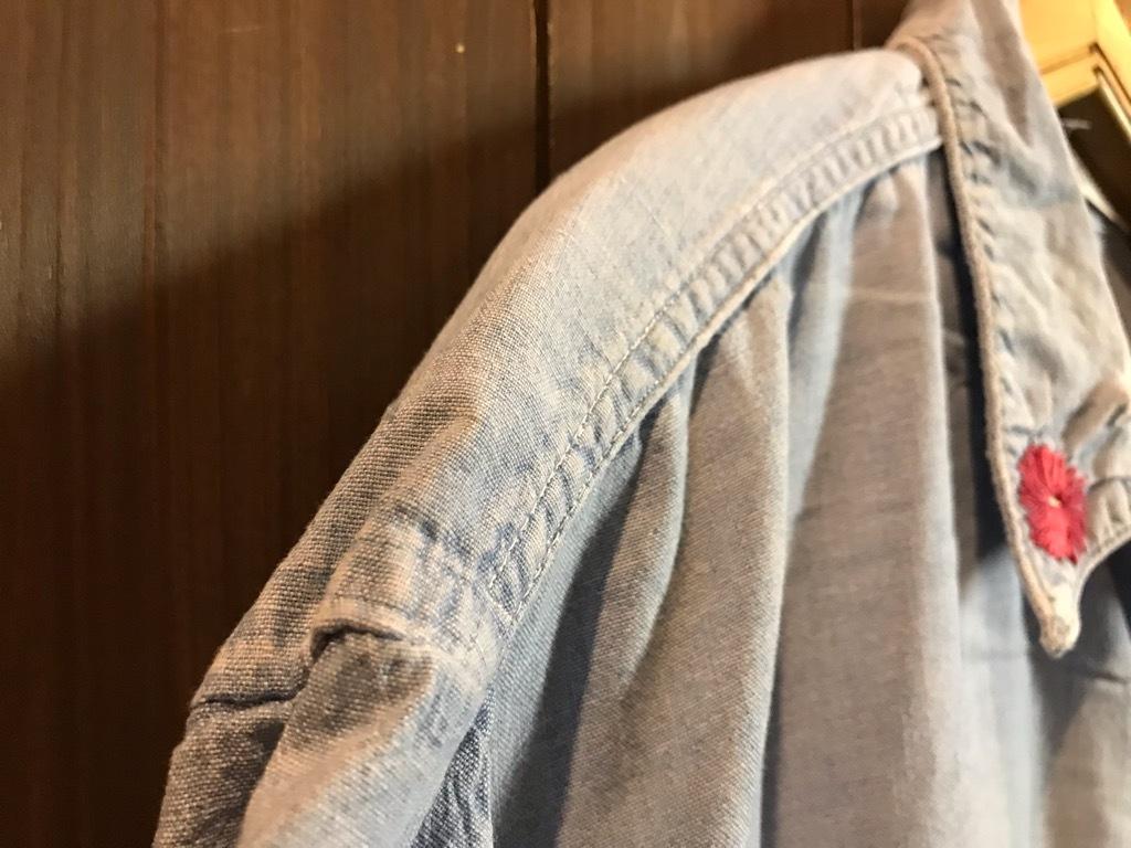 マグネッツ神戸店4/24(水)Vintage入荷! #1 Chambray Shirt!!!_c0078587_17271995.jpg