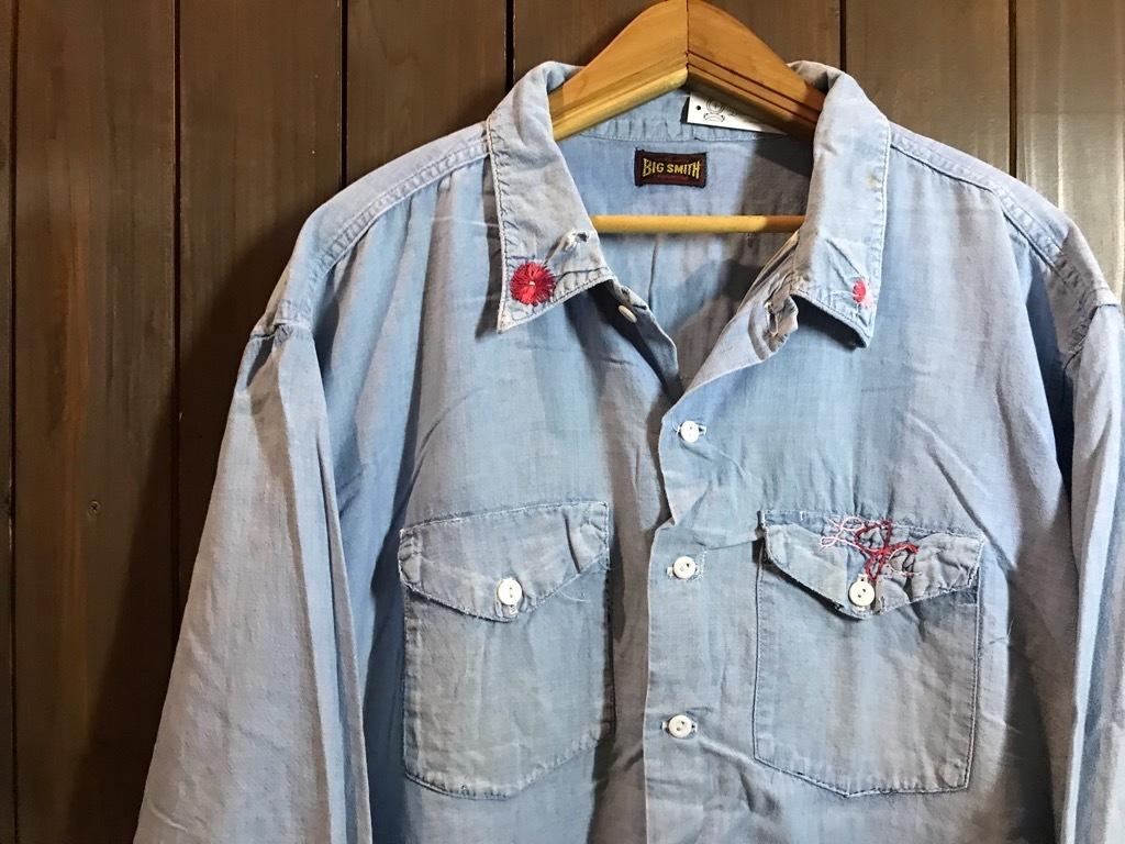 マグネッツ神戸店4/24(水)Vintage入荷! #1 Chambray Shirt!!!_c0078587_17272059.jpg