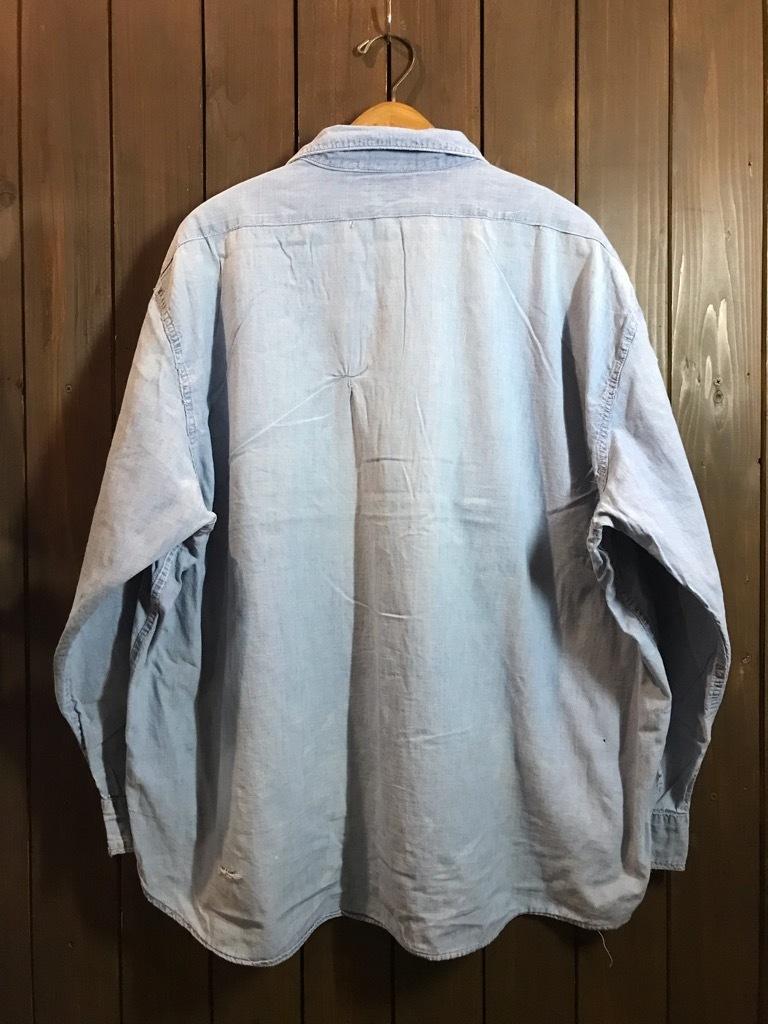 マグネッツ神戸店4/24(水)Vintage入荷! #1 Chambray Shirt!!!_c0078587_17272065.jpg