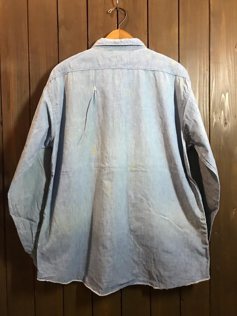 マグネッツ神戸店4/24(水)Vintage入荷! #1 Chambray Shirt!!!_c0078587_17291336.jpg