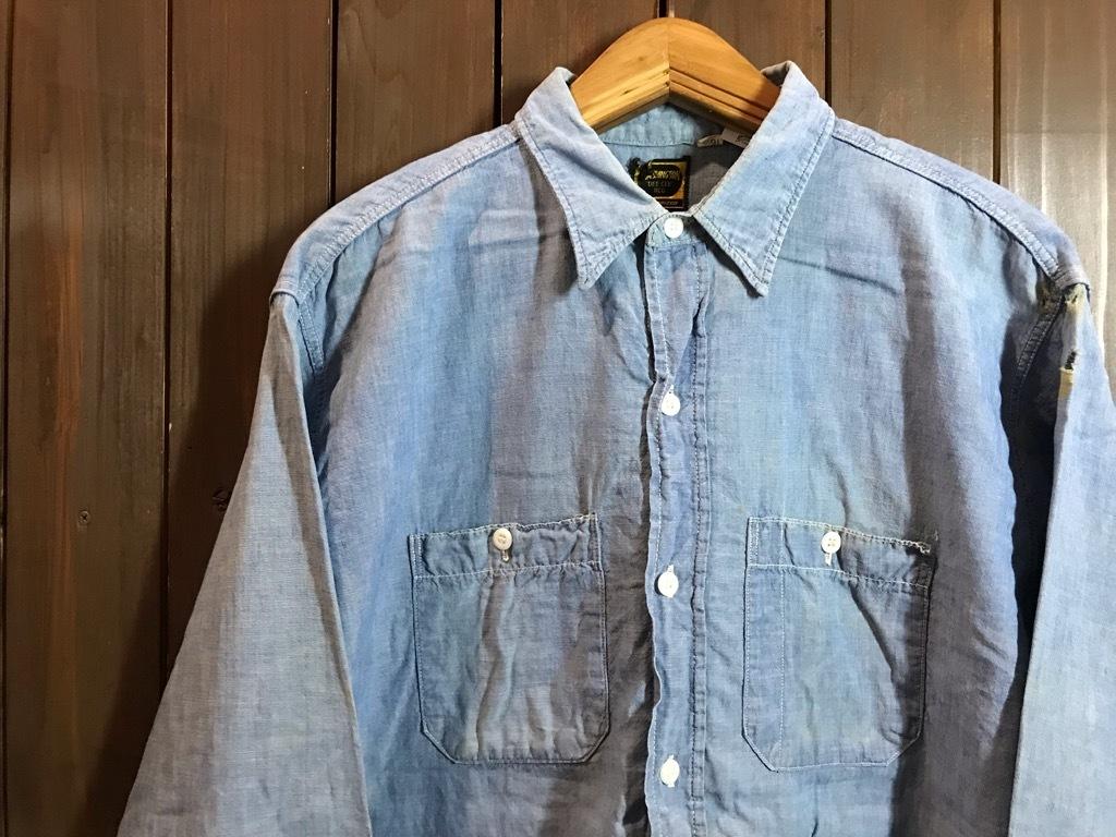 マグネッツ神戸店4/24(水)Vintage入荷! #1 Chambray Shirt!!!_c0078587_17291485.jpg