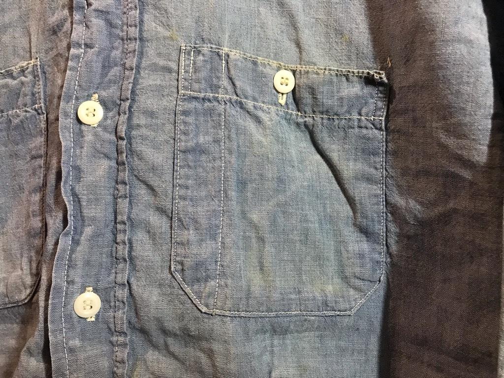 マグネッツ神戸店4/24(水)Vintage入荷! #1 Chambray Shirt!!!_c0078587_17291498.jpg