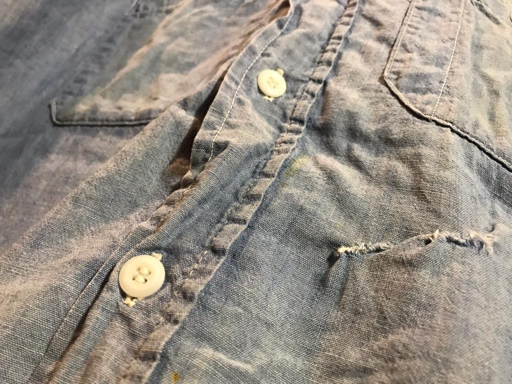 マグネッツ神戸店4/24(水)Vintage入荷! #1 Chambray Shirt!!!_c0078587_17291499.jpg