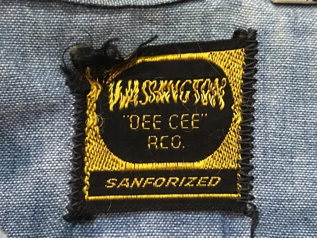 マグネッツ神戸店4/24(水)Vintage入荷! #1 Chambray Shirt!!!_c0078587_17291508.jpg