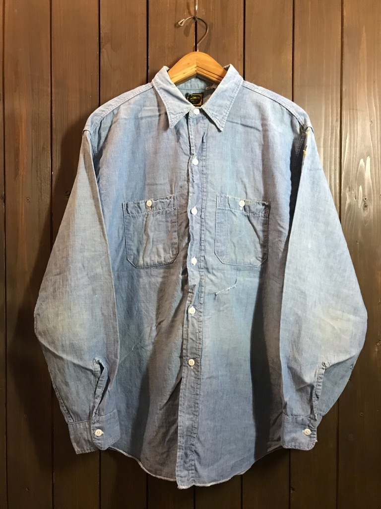 マグネッツ神戸店4/24(水)Vintage入荷! #1 Chambray Shirt!!!_c0078587_17291580.jpg