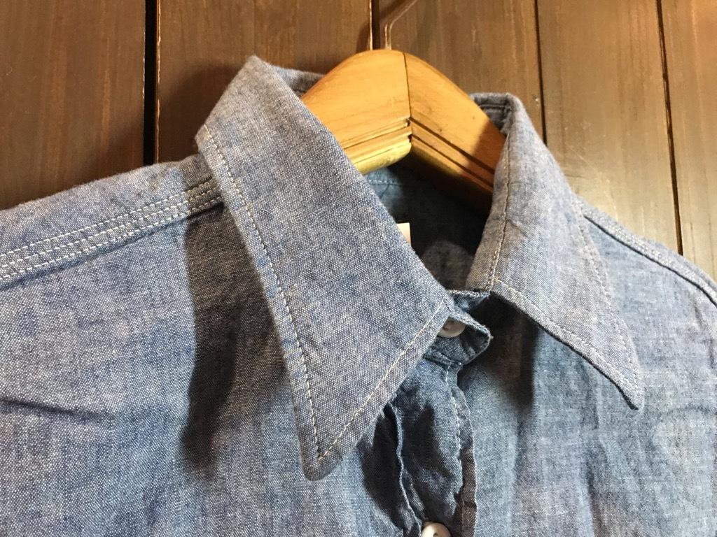 マグネッツ神戸店4/24(水)Vintage入荷! #1 Chambray Shirt!!!_c0078587_17303544.jpg