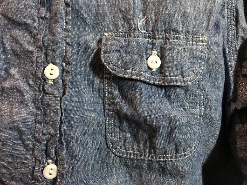 マグネッツ神戸店4/24(水)Vintage入荷! #1 Chambray Shirt!!!_c0078587_17303550.jpg