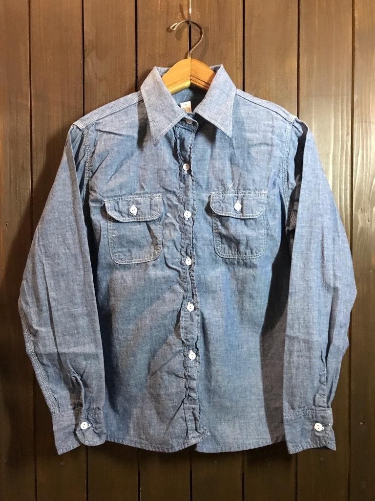 マグネッツ神戸店4/24(水)Vintage入荷! #1 Chambray Shirt!!!_c0078587_17303605.jpg