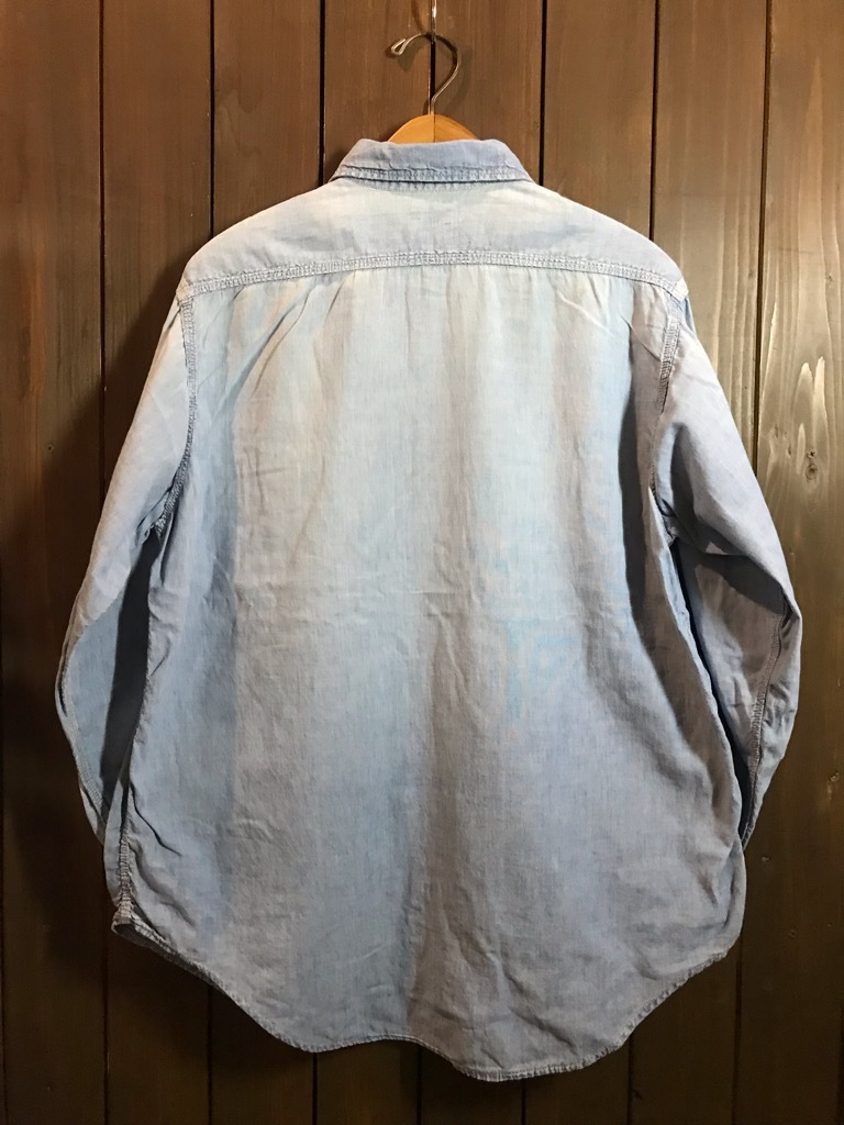マグネッツ神戸店4/24(水)Vintage入荷! #1 Chambray Shirt!!!_c0078587_17322817.jpg