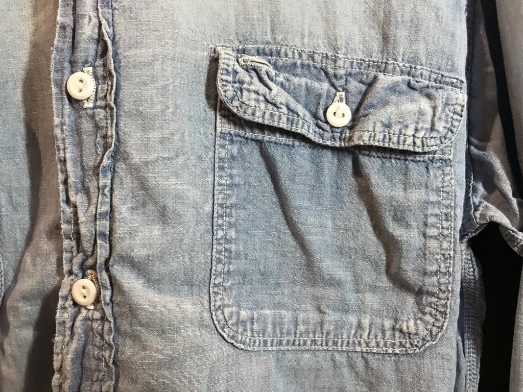 マグネッツ神戸店4/24(水)Vintage入荷! #1 Chambray Shirt!!!_c0078587_17322840.jpg