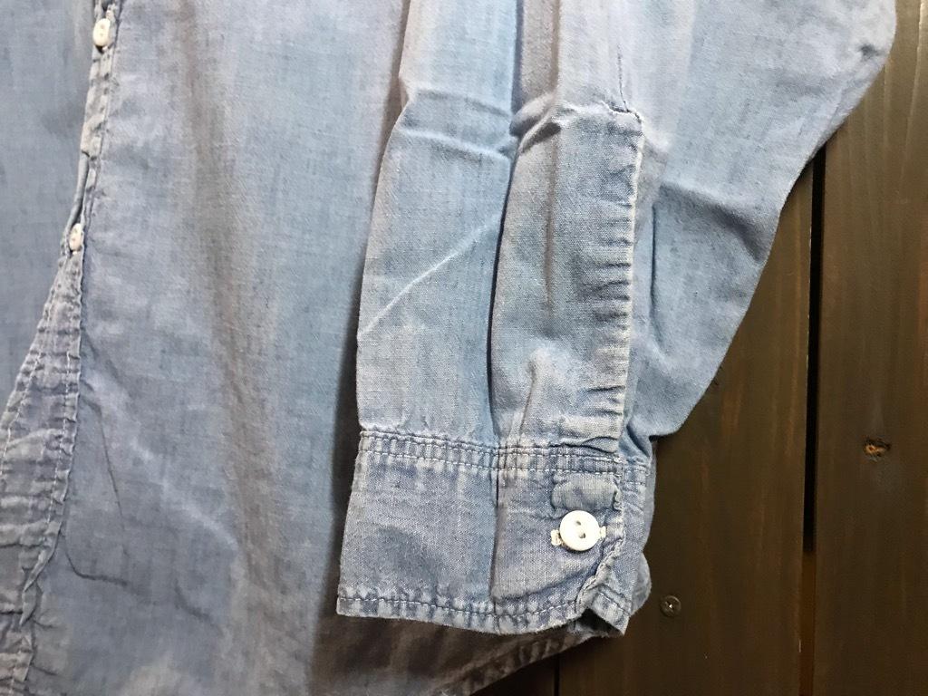 マグネッツ神戸店4/24(水)Vintage入荷! #1 Chambray Shirt!!!_c0078587_17322888.jpg